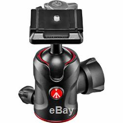 Manfrotto 496 Aluminum Center Ball Head with 200PL-PRO QR Plate Mfr # MH496-BH