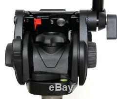 Manfrotto 501HDV fluid video head with 501PL quick release plate