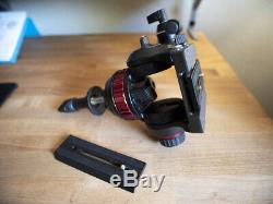Manfrotto 502A Fluid Video Head 75mm Half Ball with Two Quick Release Plates