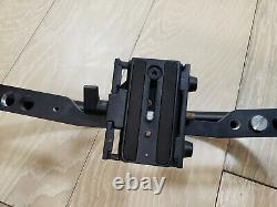Manfrotto 595b Fig Rig Video Camera Stabiiliser With Quick Release Plate