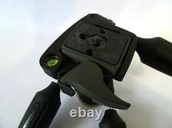 Manfrotto 804RC2 3-Way Pan/Tilt Head with RC2 Quick Release & 200PL QR Plate UK