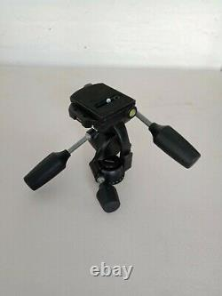 Manfrotto 808RC4 3-Way, Pan-and-Tilt Tripod Head with 410PL Quick Release Plate
