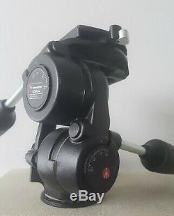 Manfrotto 808rc4 Tripod Head + Quick-release Plate Excellent