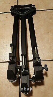 Manfrotto Bogen 3046 Tripod with 3063 3.8 Head and plate bundle with dolly
