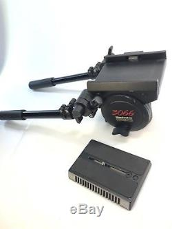 Manfrotto / Bogen 3066 Pro Fluid Head with Dual Arms & Quick Release Plate