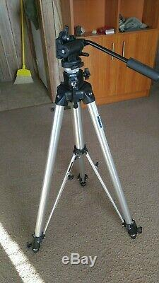 Manfrotto Bogen 3068 Tripod with 3160 head & 2 QR plates