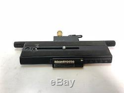 Manfrotto MA 454 Micro Positioning Plate