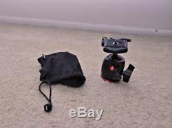 Manfrotto MHXPRO-BHQ2 Ball Head & Oben AC-1320 tripod & 2 Quick Release Plates