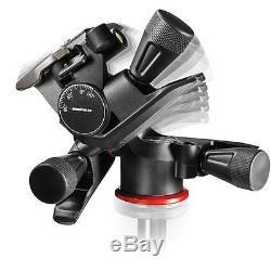 Manfrotto MT055XPRO3 Aluminium Tripod kit + Geared Head + Quick Release Plates