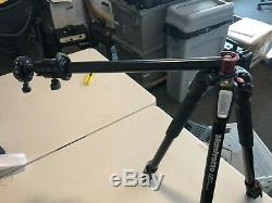 Manfrotto MT055XPRO3 Aluminum Tripod with FOBA Superball M1 Head & Panorama Plate