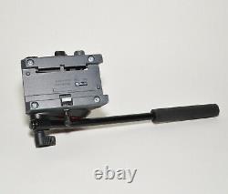 Manfrotto MVH500AH Pro Fluid Head Flat Base Video Tripod Head No Plate USA