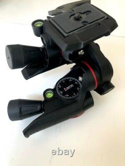 Manfrotto XPRO 3-Way, Geared Pan-and-Tilt Head with 200PL-14 Quick Release Plate