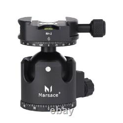 Marsace XB-2R Panoramic Ball Head with QR Plate Tripod Head for Camera