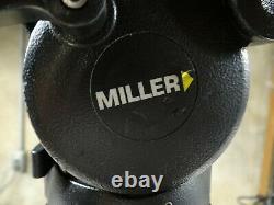 Miller Compass 25 Tripod with Carbon Fiber Legs Quick Release Plate Portabrace