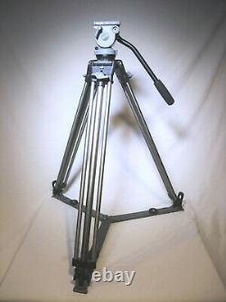 Miller DS-10 Fluid Head Aluminum Tripod 75mm Bowl with Spreader & Release Plate GC