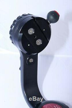Mongoose Gimbal Action Head 4th Generation with Quick release Plate