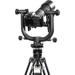 Movo Photo GH1000-II Double Gimbal Tripod Head with Arca-Swiss Quick-Release Plate