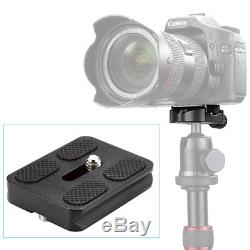 NEEWER PU-50 Universal Quick Release Plate for Benro Arca Swiss Tripod Ball Head