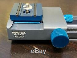 NOVOFLEX FOCUSING RACK CASTEL-Q with QPL-1 Plate, Free Shipping