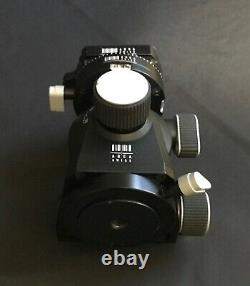 Nice Arca Swiss D4 Geared Head With Classic knob Quick Release with Plates