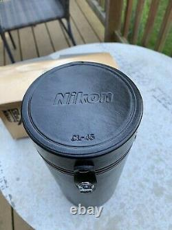 Nikon AF Micro Nikkor 200mm F/4 D IF ED Macro Lens with Kirk Quick Release Plate