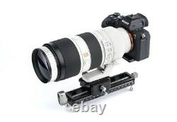 Nisi NM-180 Macro Focusing Rail track slider Quick Release Plate for DSLR Camera