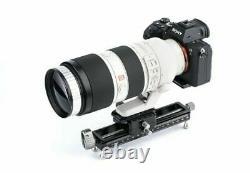 Nisi NM-180 Mini Macro Focusing Rail track slider Quick Release Plate f DSLR Cam