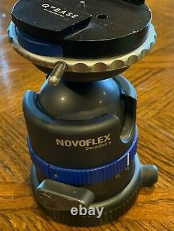 Novoflex ClassicBall 5 Ball Head, with Q-Base and QPL1 (universal plate)