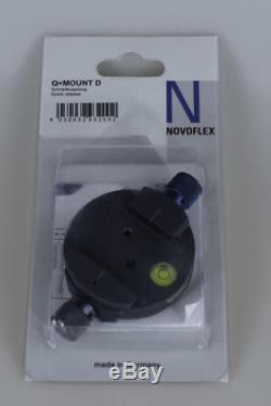 Novoflex Q=Mount D Double Quick Release Base without Plate