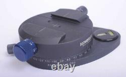 Novoflex Universal Pro Panorama Plate, with Q-Mount Quick Release & Variable Pan
