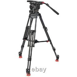OConnor Ultimate 2560 Fluid Head & 60L Mitchell Top Plate Tripod with Mid-Level