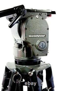 O'CONNOR 1030 HEAD CF TRIPOD 35L CARBON BAR TD KNOB PLATE BAG MINT SERVICED 39Lb