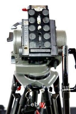 O'CONNOR 1030 HEAD CF TRIPOD SYSTEM 35L CARBON BAR TD KNOB PLATE BAG MINT 39Lbs