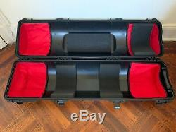 Oconnor 1030Ds with Oconnor 30L carbon fiber legs, Sony VCT plate, and hard case