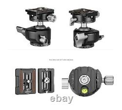 Open Box Leofoto LH-30R Ball Head with Quick Release Plate