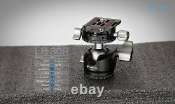 Open Box Leofoto LH-30R panorama ball head with Quick Release Plate
