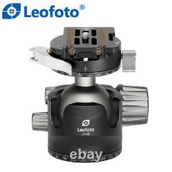 Open Box Leofoto LH-55 PCL Ball Head with Quick Release Plate / Case