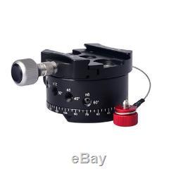 PH-720A 720° Panoramic Tripod Head Ballhead Quick Release Plate For DSLR Camera