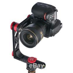 PH-720B 720° Panoramic Tripod Ballhead Quick Release Plate For DSLR Camera DV