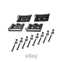 POWERTEC 71132 Quick-Release Workbench Caster Plates, 4-Pack