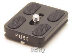 PU-50 Quick Release Plate Sirui Tripod ball head 1/4 Screw Arca Swiss QR