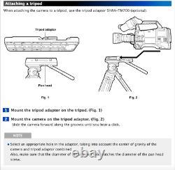 Panasonic SHAN-TM700 Quick-Release Broadcast Camera Tripod Adapter Plate