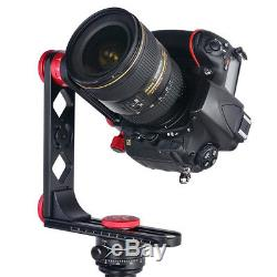 Panoramic Tripod Head with Arca-Swiss Quick Release Plate for Nikon Canon Sony