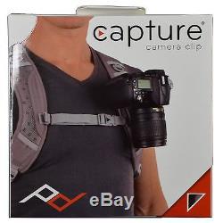 Peak Design Capture Camera Clip V2 CCC-2.0S with Standard Quick Release Plate