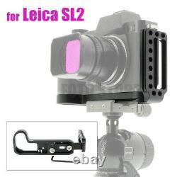 Peipro Alloy Aluminum Quick Release L-plate Bracket Holder Grip for LEICA SL2 1x