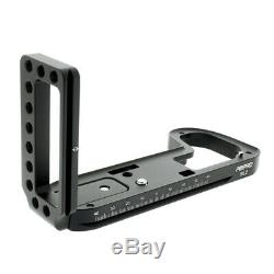 Peipro alloy aluminum quick Release L-plate bracket Hand Grip for LEICA SL2 came