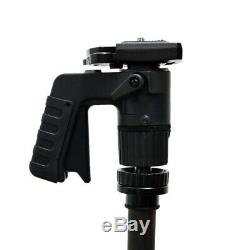 Pistol Grip Ball Head Mount with Quick Release Plate for Tripods & Monopods