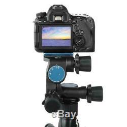 Pro BENRO GD3WH Tripod Geared Head & PU70 QR Plate for Canon Sony Nikon DSLR Cam