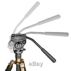 Pro Video Camera Fluid Drag Tripod Head Sliding Plate for Camera Tripod Monopod