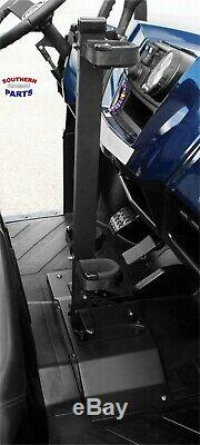 Quick Draw Gun Rack With Quick Release Mounting Plate Polaris Ranger 700 800 900
